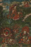 ARHAT WITH GUARDIAN KINGS -    - Asian Art
