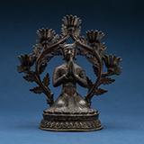 ROYAL DONOR FIGURE -    - Asian Art