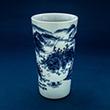 BLUE AND WHITE PORCELAIN VASE - Asian Art