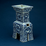 BLUE AND WHITE PORCELAIN CENSER -    - Asian Art