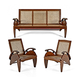 ART DECO SOFA SET -    - The Design Sale