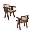 OFFICE ARMCHAIR, PIERRE JEANNERET - The Design Sale