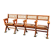 FOUR SEATER CINEMA BENCH, PIERRE JEANNERET - The Design Sale