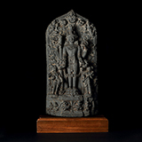 VISHNU WITH HIS RETINUE -    - From Classical to Contemporary