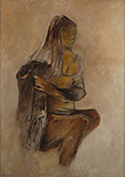 Untitled - Krishen  Khanna - Evening Sale   Live Auction, Mumbai