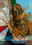 Untitled - M F Husain - Evening Sale | Live Auction, Mumbai