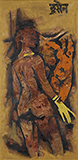 Untitled - M F Husain - Evening Sale | Live Auction, Mumbai