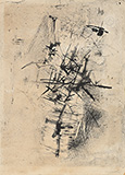 Untitled - Nasreen  Mohamedi - Evening Sale | Live Auction, Mumbai