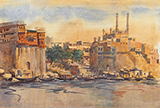 Untitled (Benares) - S H Raza - Evening Sale | Live Auction, Mumbai