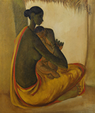 Untitled - B  Prabha - Evening Sale | Live Auction, New Delhi