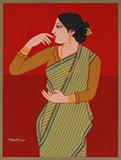 Untitled - Lalu Prasad Shaw - Evening Sale | Live Auction, New Delhi