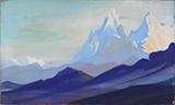 Himalayas - Nicholas  Roerich - Evening Sale | Live Auction, New Delhi