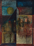 Untitled (Landscape with Sun) - Sadanand  Bakre - Evening Sale | Live Auction, New Delhi