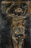 Crucifixion - Tyeb  Mehta - Evening Sale | Live Auction, New Delhi