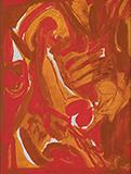 Heart - S H Raza - Summer Online Auction