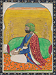 PORTRAIT OF A SIKH PRINCE - Classical Indian Art