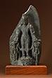 VISHNU WITH PERSONIFIED ATTRIBUTES, CHAKRAPURUSHA AND GADADEVI - Classical Indian Art