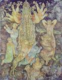 Sakti  Burman-Durga