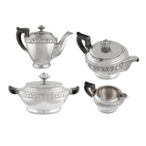 -A COFFEE AND TEA SET
