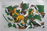 Painting by Maqbool Fida Husain
