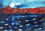 Untitled - S H Raza - Auction 2000 (November)