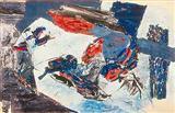 Untitled - Ram  Kumar - Auction 2000 (November)