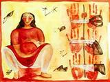 Untitled - Rekha  Rodwittiya - Auction 2000 (November)