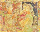 Untitled - Sakti  Burman - Auction 2000 (November)
