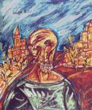 Untitled - F N Souza - Auction 2000 (November)