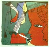 Untitled - Paresh  Maity - Auction 2000 (November)