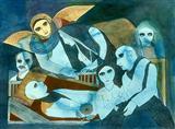 An ode to sleep - Badri  Narayan - Auction 2001 (December)