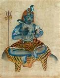 Hindu Deity - Kalighat  School - Auction 2001 (December)