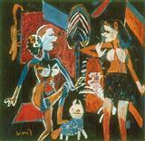 Untitled - K G Subramanyan - Auction 2001 (December)