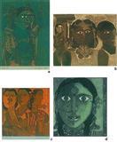 Face of a woman - K Laxma  Goud - Auction 2001 (December)