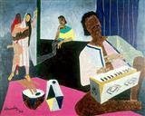 Untitled - M F Husain - Auction 2001 (December)