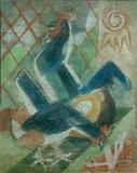 The Rooster - Ramkinkar  Baij - Auction 2001 (December)