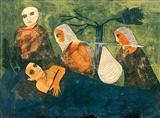 Chhandanta Jataka - Badri  Narayan - Auction 2002 (December)
