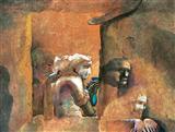 Untitled - Bikash  Bhattacharjee - Auction 2002 (December)