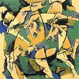 H Quartet - M F Husain - Auction 2002 (December)