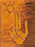 Untitled - M F Husain - Auction 2002 (December)