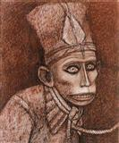 The Face - Ganesh  Pyne - Auction 2002 (December)