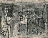 Untitled - Ram  Kumar - Auction 2002 (December)