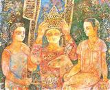 Untitled - Sakti  Burman - Auction 2002 (December)