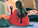 Untitled - Sudhir  Patwardhan - Auction 2002 (December)