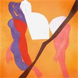 Untitled - Tyeb  Mehta - Auction 2002 (December)