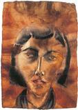 Head Study - Anju  Dodiya - Auction 2002 (May)