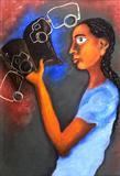 Untitled - Arpana  Caur - Auction 2002 (May)