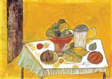 The Table at my Sickbed - Badri  Narayan - Auction 2002 (May)