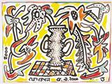 Untitled - Jogen  Chowdhury - Auction 2002 (May)