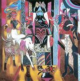 Mask, Icon, Mount, Mascot - K G Subramanyan - Auction 2002 (May)